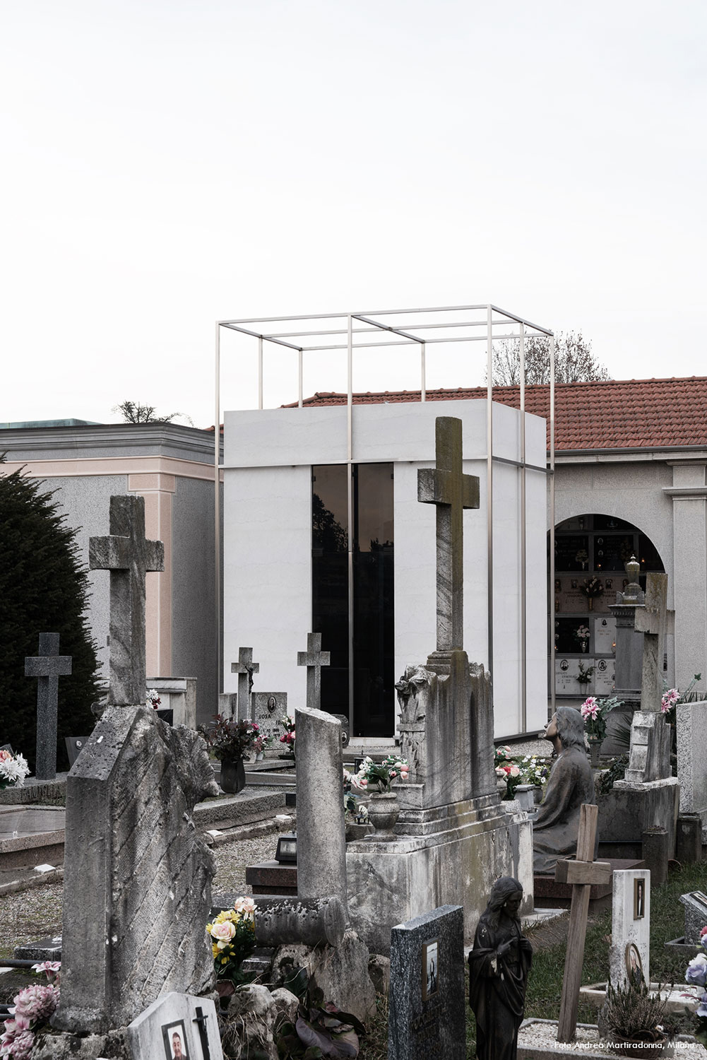 General view from the graves Andrea Martiradonna