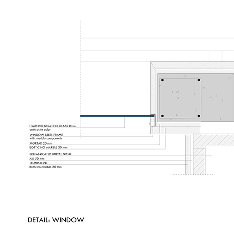 Detail: window Marco Bozzola Architetti}