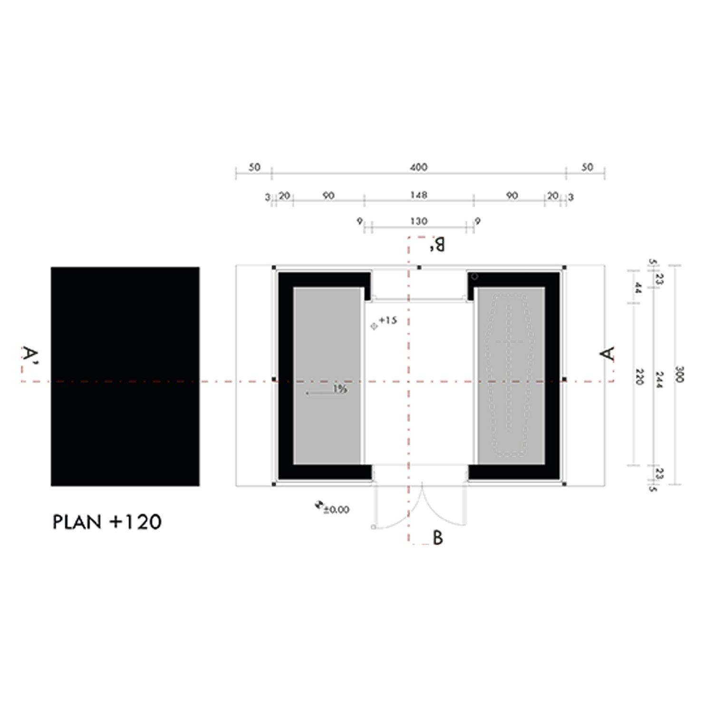 Plan + 1,20m Marco Bozzola Architetti}