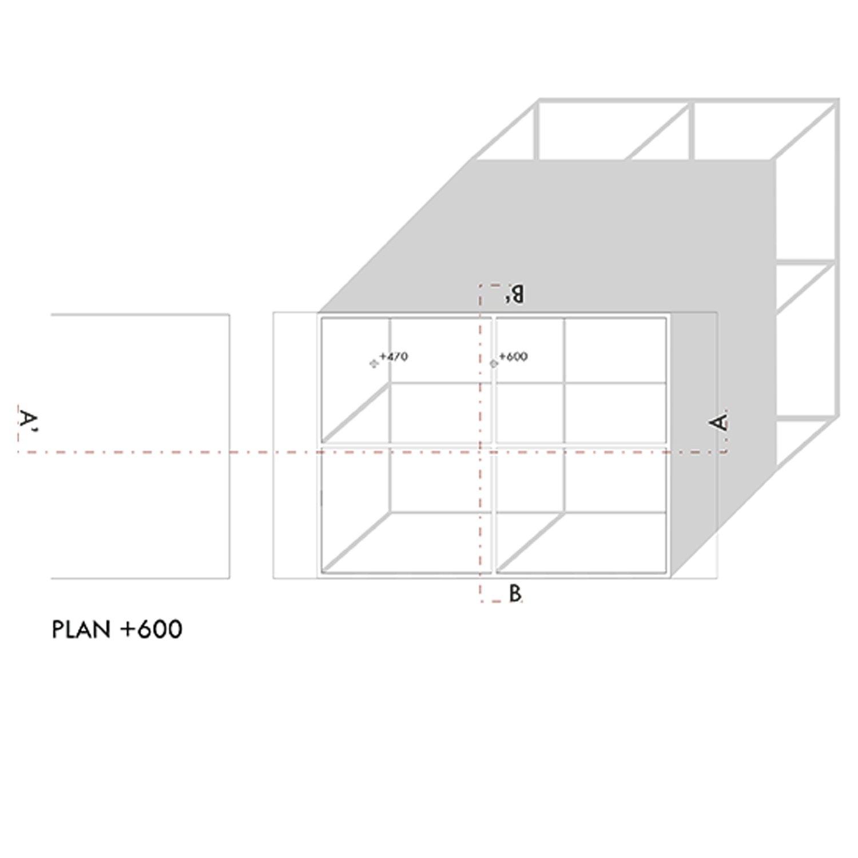 Roof plan + 6,00m Marco Bozzola Architetti}