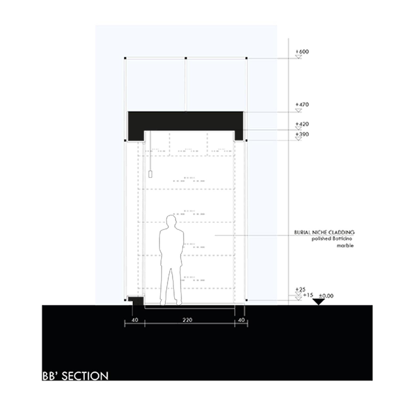 Section B-B Marco Bozzola Architetti}