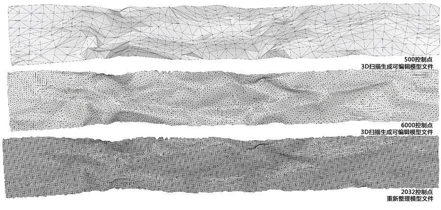 KU Landscape – Memories on Terrain KU Landscape – Memories on Terrain-computer model with triangle mesh control points}