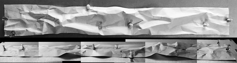 KU Landscape – Memories on Terrain KU Landscape – Memories on Terrain-paper model©NODE}
