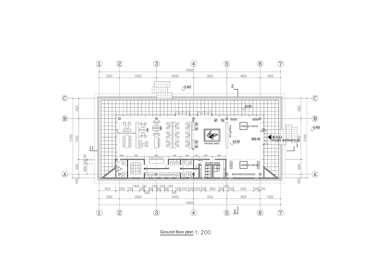 Ground Floor Plan Shanghai PTArchitects}