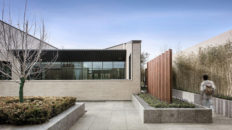Folding Garden | Beijing Poly · Sunrise Town Community Center Huang Zaohui