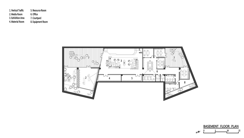 Basement Floor Plan ZHUBO Design}