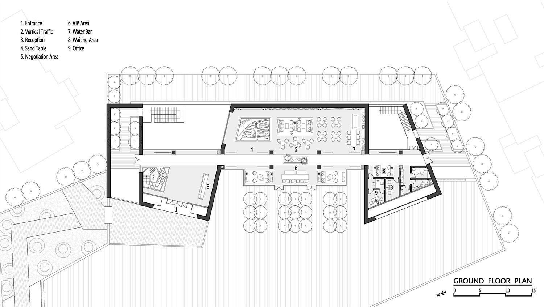 Ground Floor Plan ZHUBO Design}