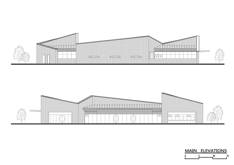 Main Elevations ZHUBO Design}