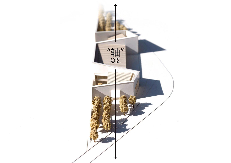 Model central axis ZHUBO Design}