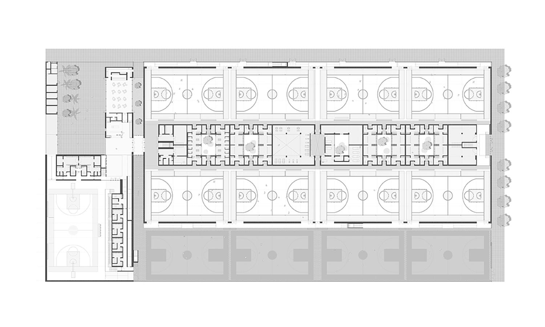 Floor Plan ERRE arquitectura}