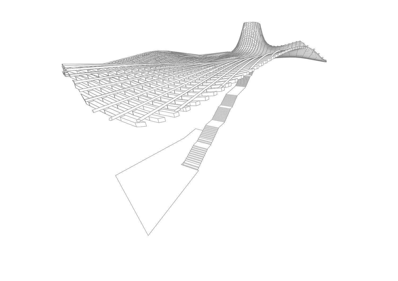 Ceiling structure Berger+Parkkinen Architekten}