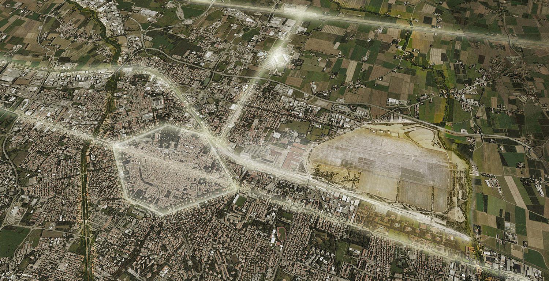 l'area Campovolo IOTTI + PAVARANI ARCHITETTI , TASSONI &PARTNERS, LAURO SACCHETTI ASSOCIATI}