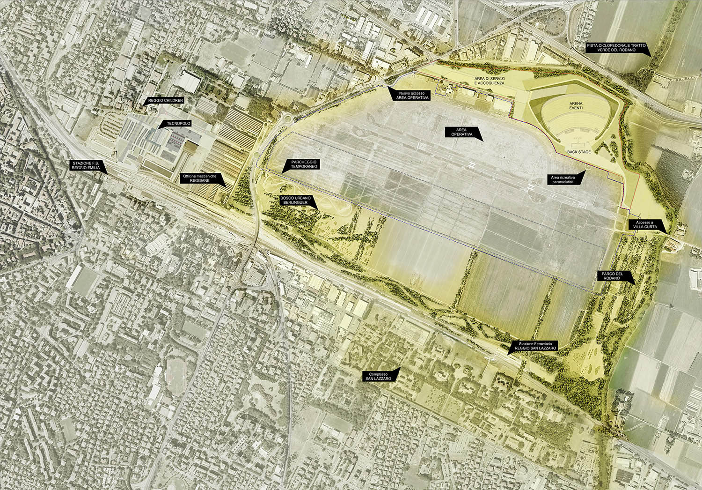 L'Arena nel sistema dei parchi IOTTI + PAVARANI ARCHITETTI , TASSONI &PARTNERS, LAURO SACCHETTI ASSOCIATI}
