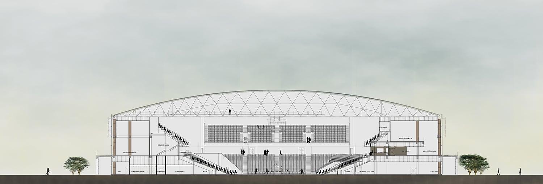Kigali Arena section Yazgan Design Architecture}