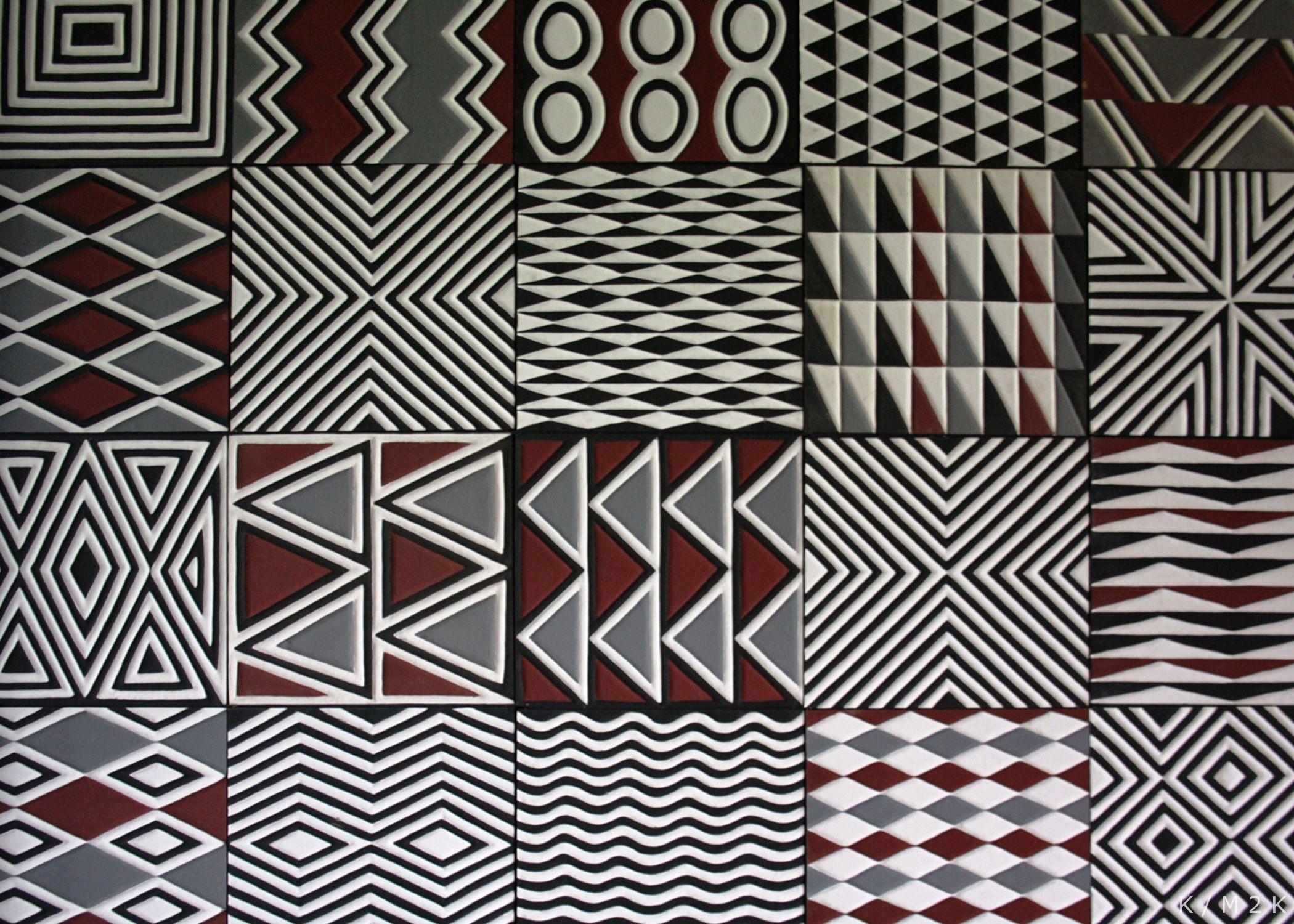 Imigongo patterns as inspiration web}