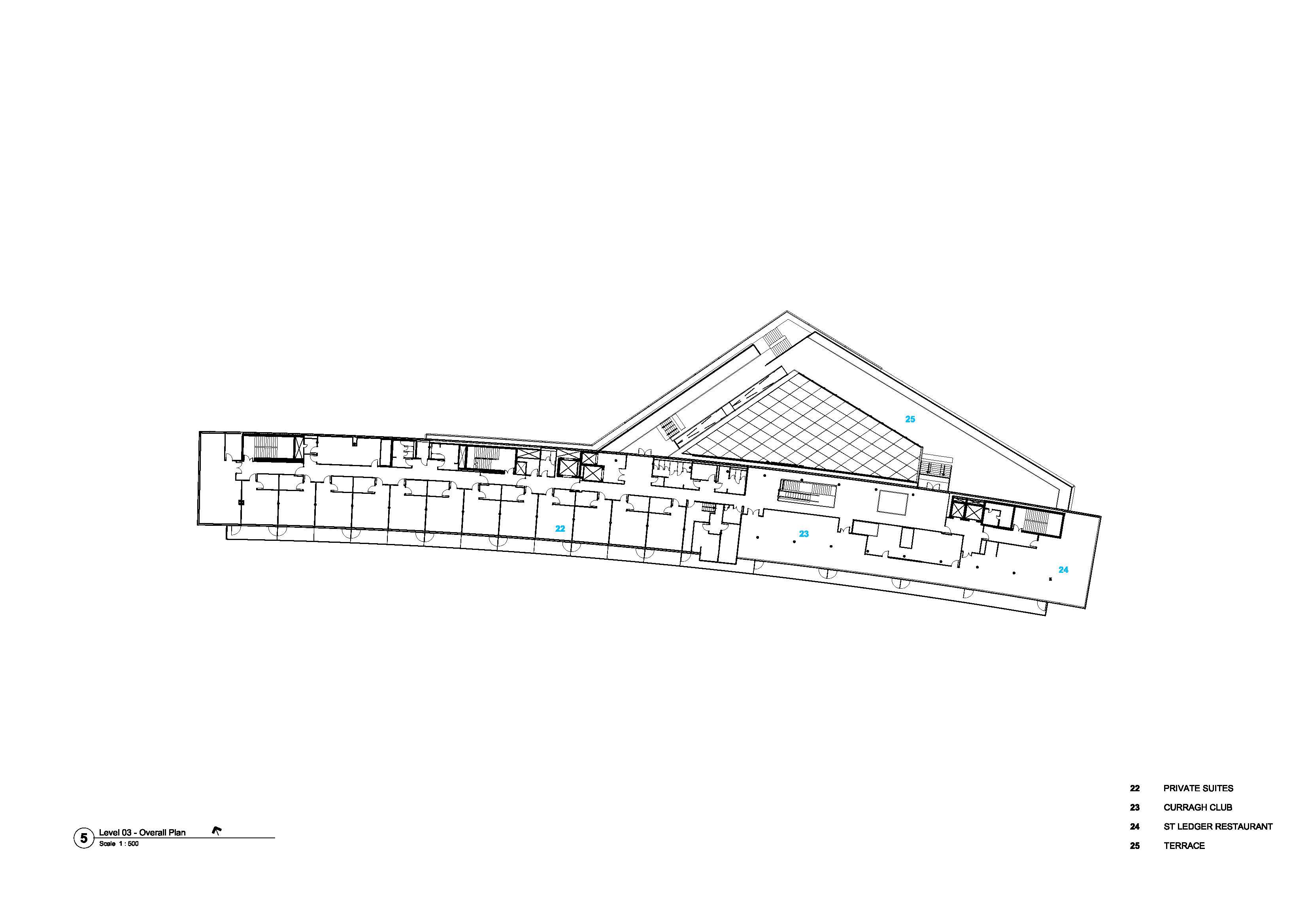 Curragh GA Plan Level 03 Grimshaw}