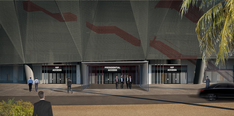 VIP Entrance - exterior Studio MAAC