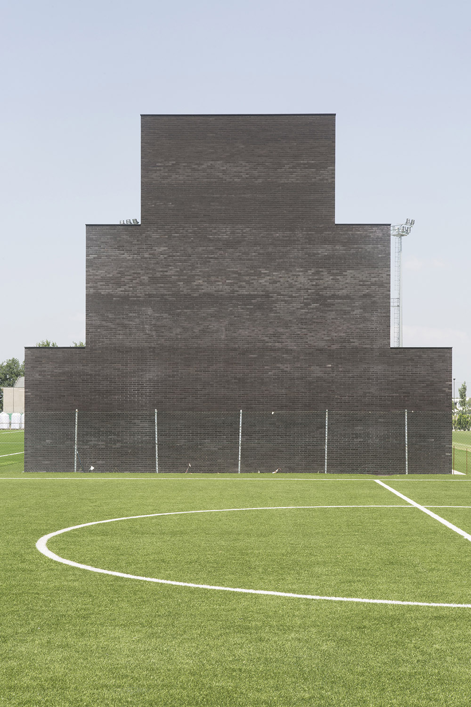 South facade Filippo Romano