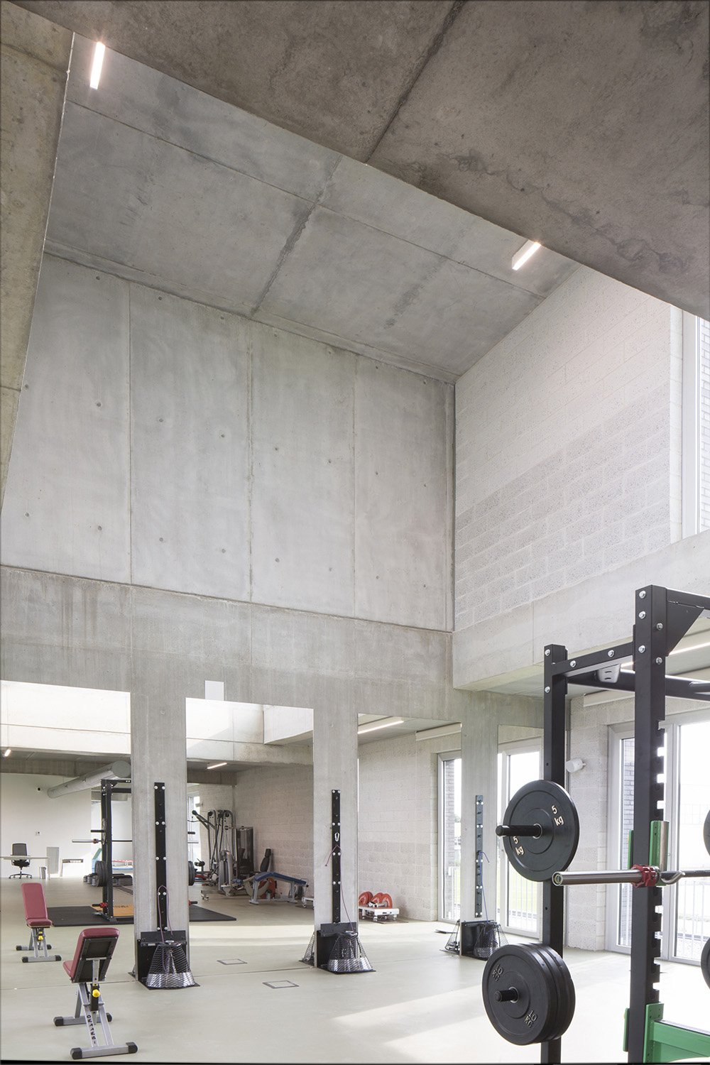 Double height in youth teams gym Filippo Romano