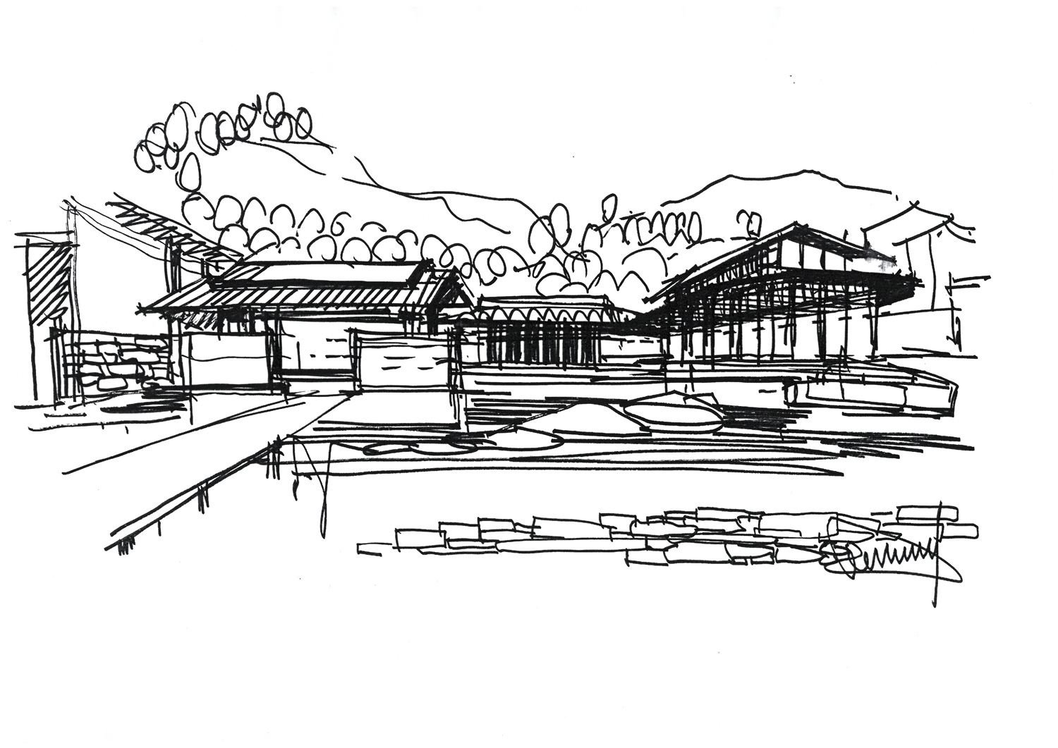 sketch Lacime Architects}
