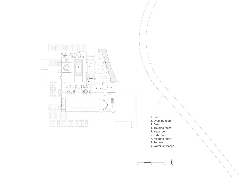 B1 Floor plan Lacime Architects}