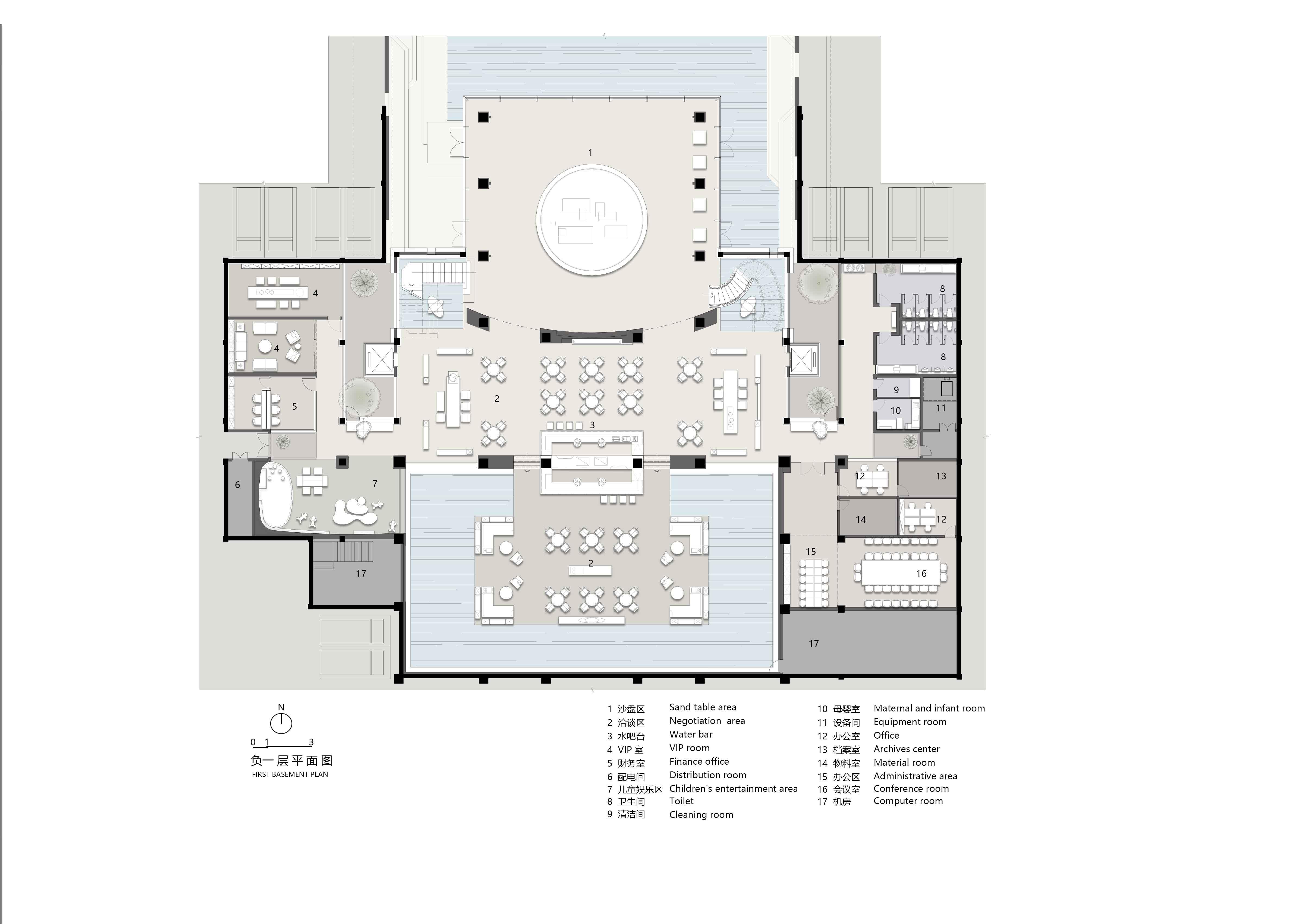 first basement plan DO DESIGN GROUP}