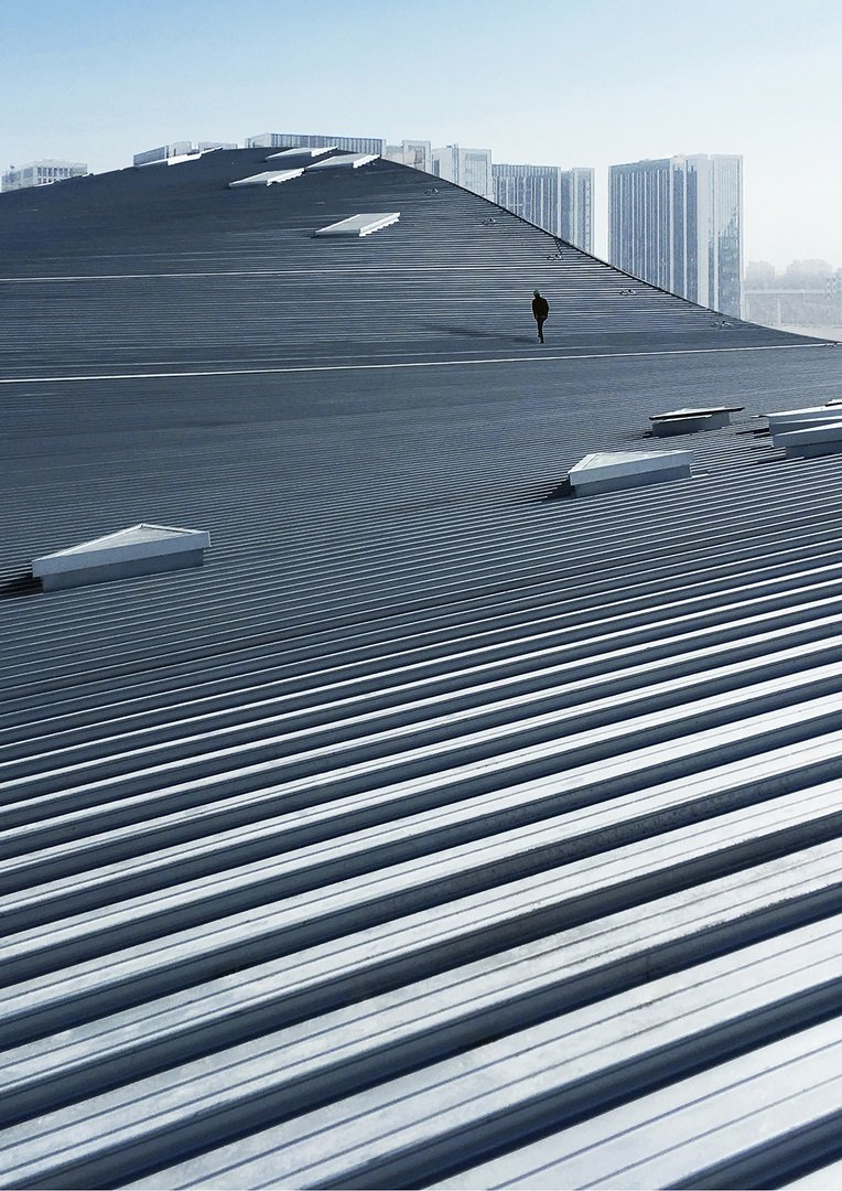 The roof view Atelier Alter Architects