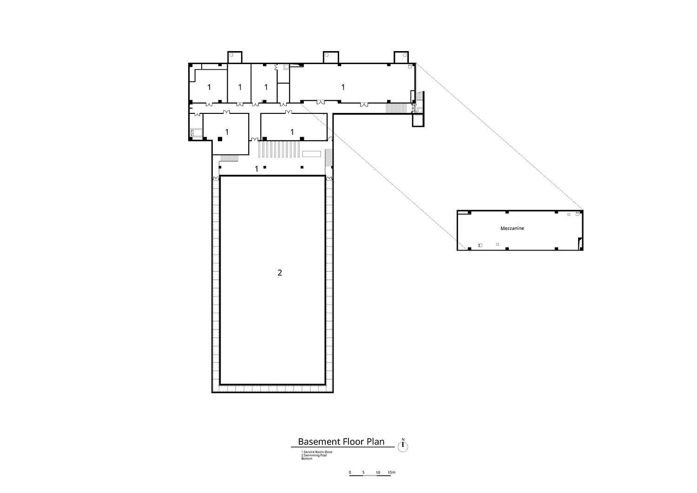 Basement Floor Plan Atelier Alter Architects}