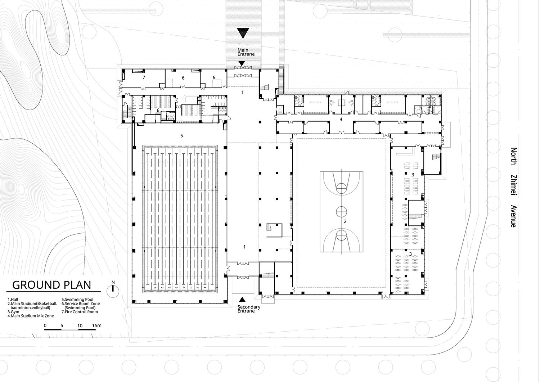 Ground Plan Atelier Alter Architects}