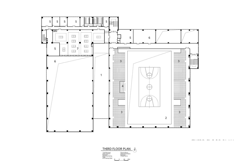 Third Floor Plan Atelier Alter Architects}