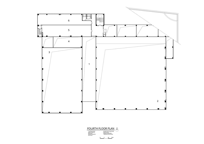 Fourth Floor Plan Atelier Alter Architects}