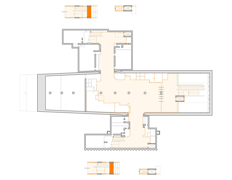 Floorplan Wibautstraat before renovation GROUP A}
