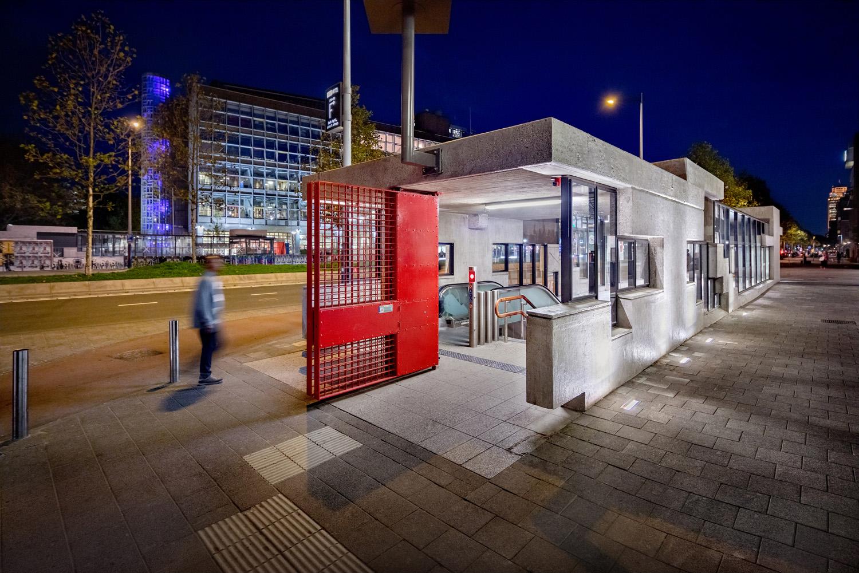 Entrance building Wibautstraat DigiDaan