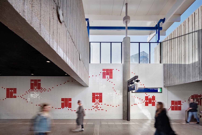 Graphic layer tiles Spaklerweg DigiDaan