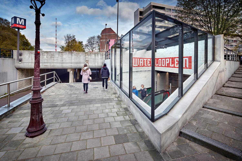 Entrance building Waterlooplein DigiDaan