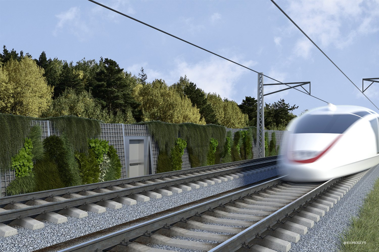 EARTH TYPE NOISE BARRIERS 3TI PROGETTI