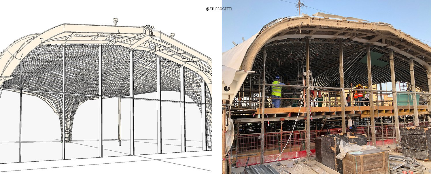 FROM BIM STRUCTURAL MODEL TO AS BUILT 3TI PROGETTI}