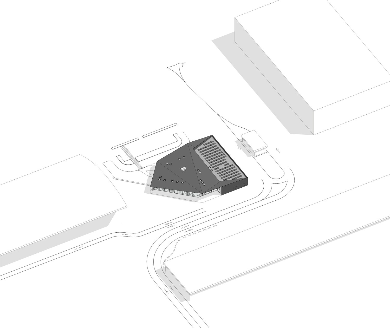 Malpensa Business Terminal Drawings - One Works One Works}