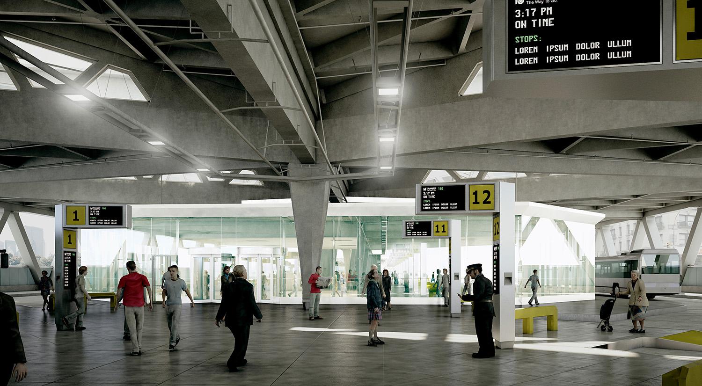 GWBBS Concourse Level View 2 STV, Inc.}