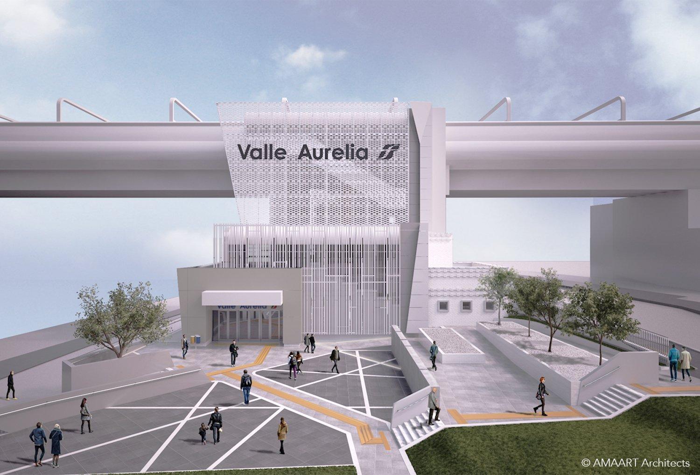 Stazione Valle Aurelia AMAART}