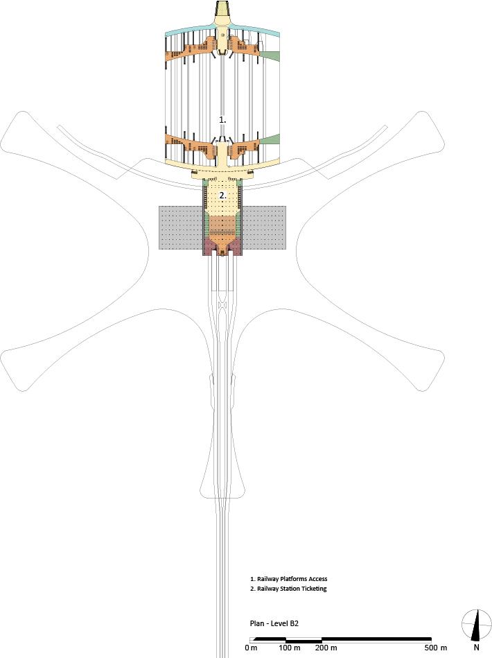 Plan © Zaha Hadid Architects}