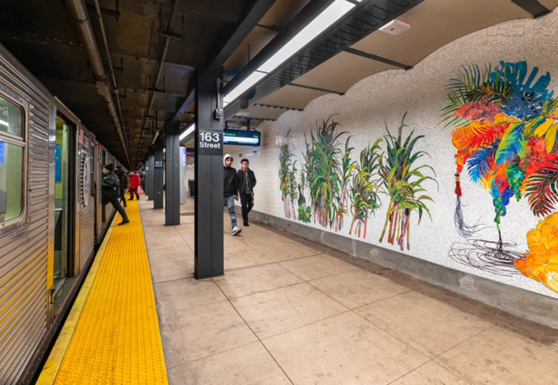 Many New Yorkers rely on the subway for transportation. The MTA's inclusion of public art and an attention to detail seeks to elevate the experience, even just a bit, for each rider. David Sundberg