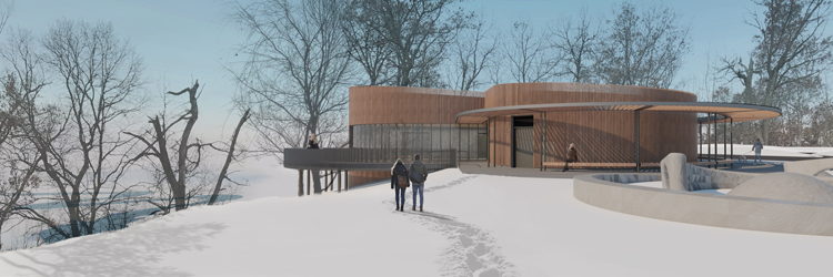 Rendering from park VJAA}