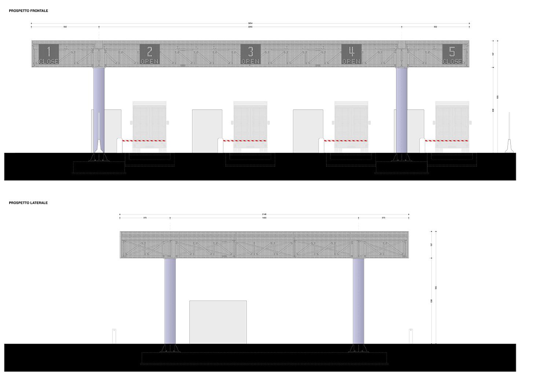 Gate LSCT terminal_prospetto EXA Engineering}