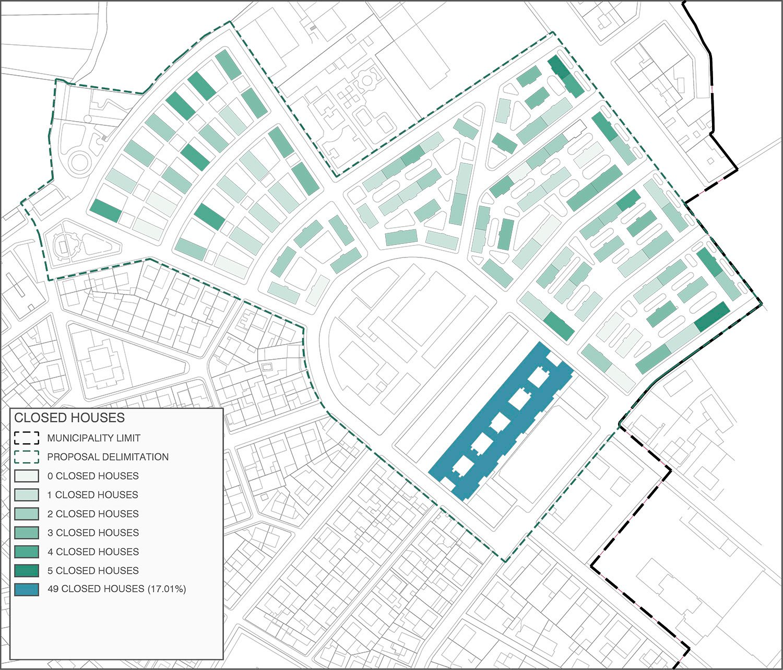 Closed houses Contextos de Arquitectura y Urbanismo}