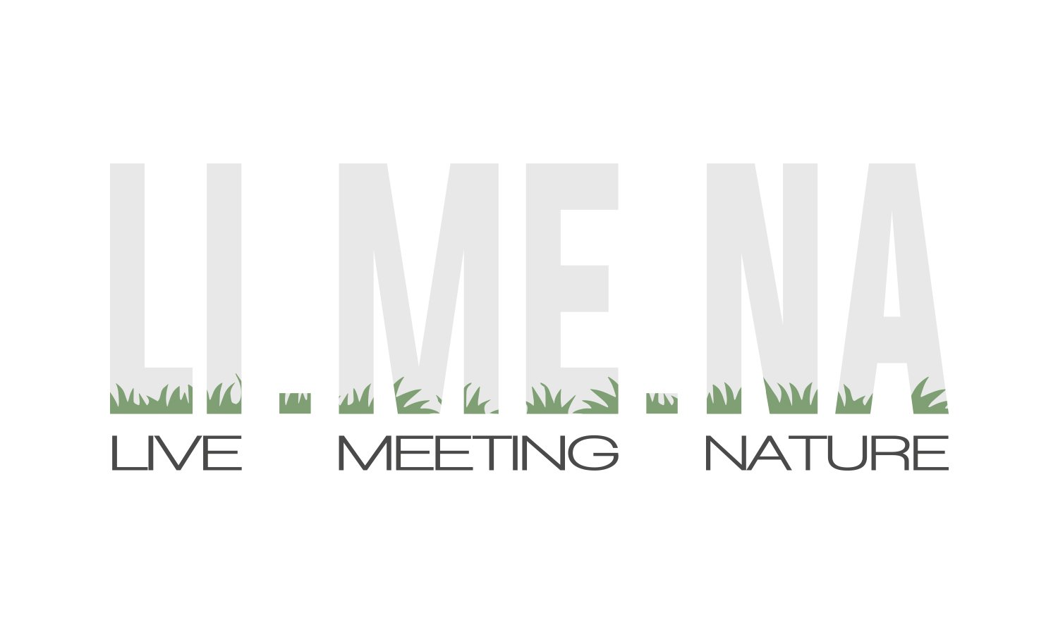 Logo LI.ME.NA. live meeting nature 3ndy Studio