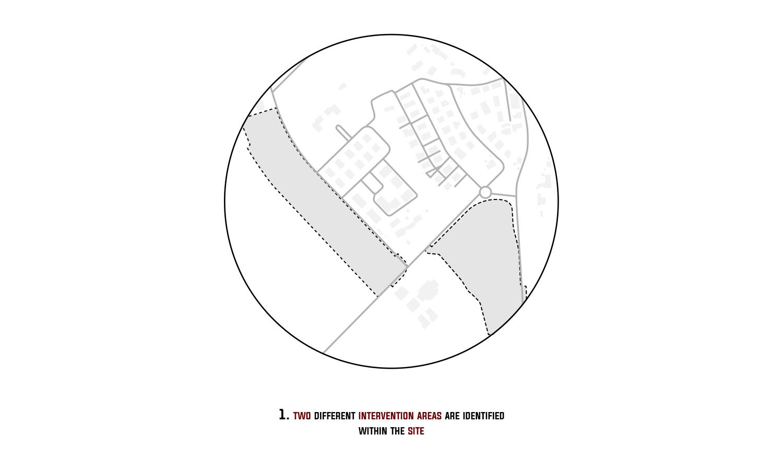 Step 1: Individuazione delle due aree d'intervento 3ndy Studio}