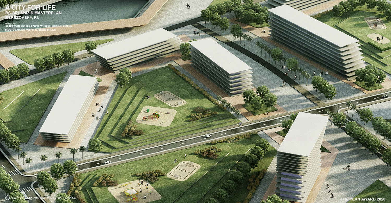 RESIDENCES WITH GREEN HILLS ALBERTO FRANCINI ARCHITECTURE & URBANPLANNING