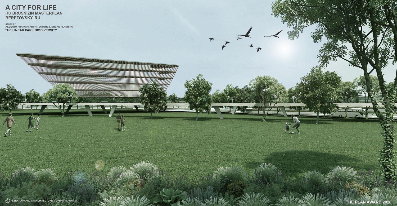 THE LINEAR PARK BIODIVERSITY ALBERTO FRANCINI ARCHITECTURE & URBANPLANNING