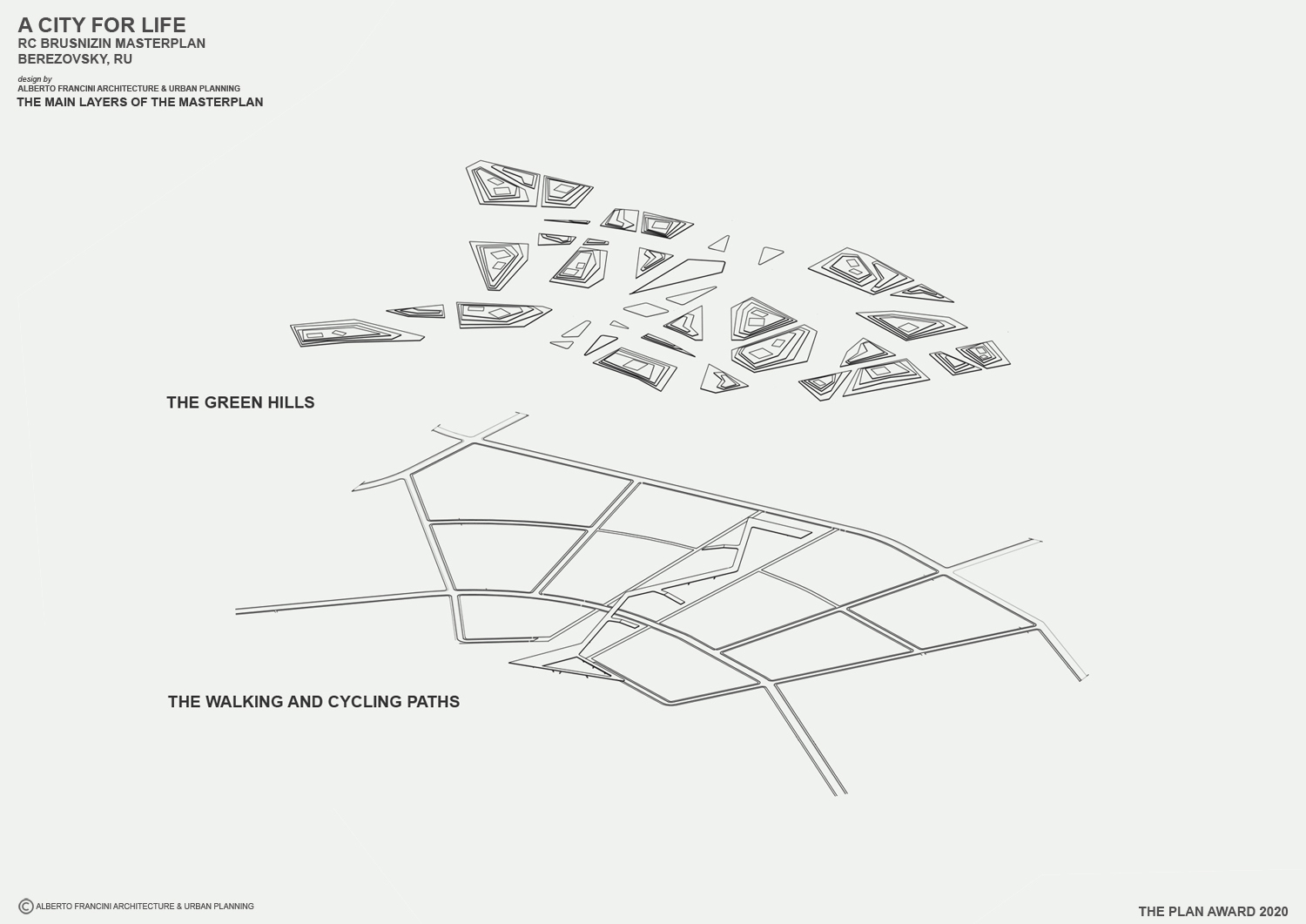 THE MAIN LAYER OF THE MASTERPLAN 2 ALBERTO FRANCINI ARCHITECTURE & URBANPLANNING}
